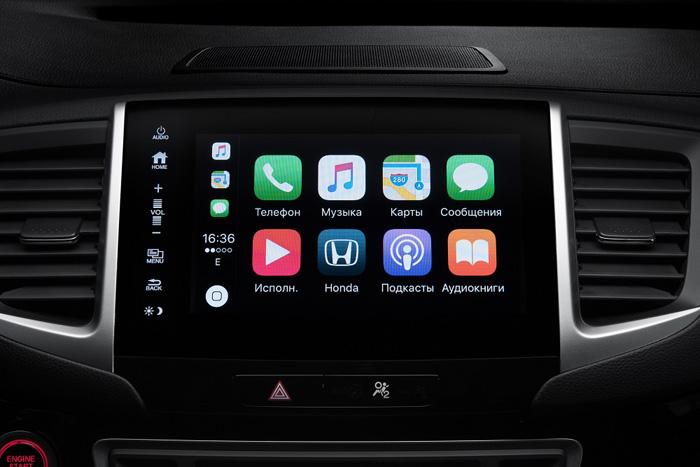 Мультимедийная система Honda Pilot