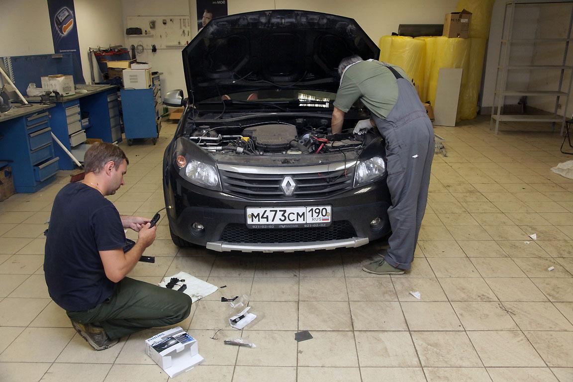 Renault Sandero Stepway: примеряем ДХО Philips Day Light 9