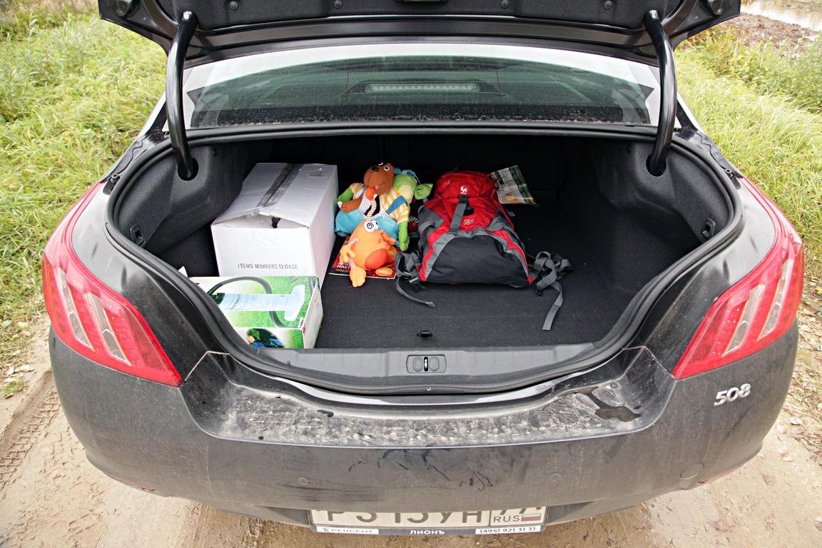 Peugeot 508: В спокойствии сила