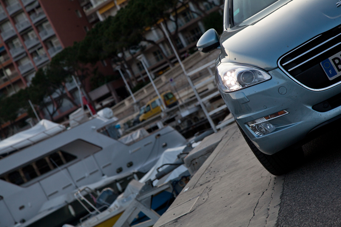 Peugeot 508: Каникулы на двух континентах