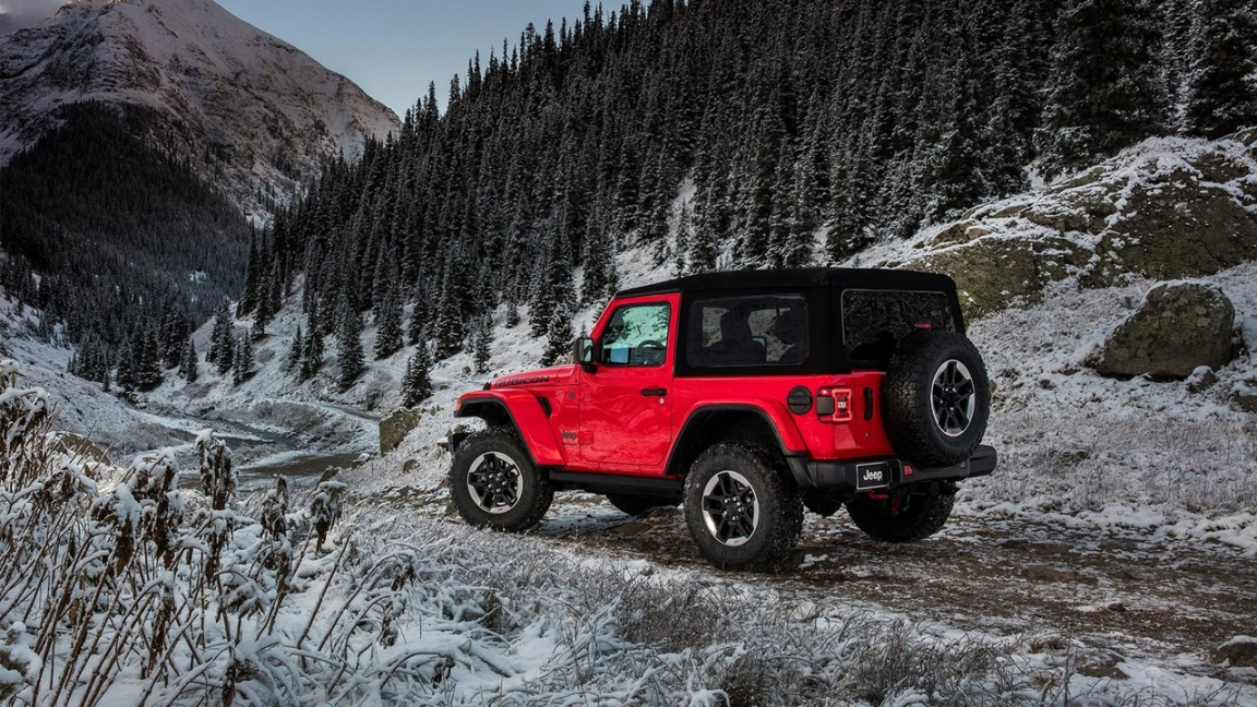 Jeep Wrangler 3 door 2018