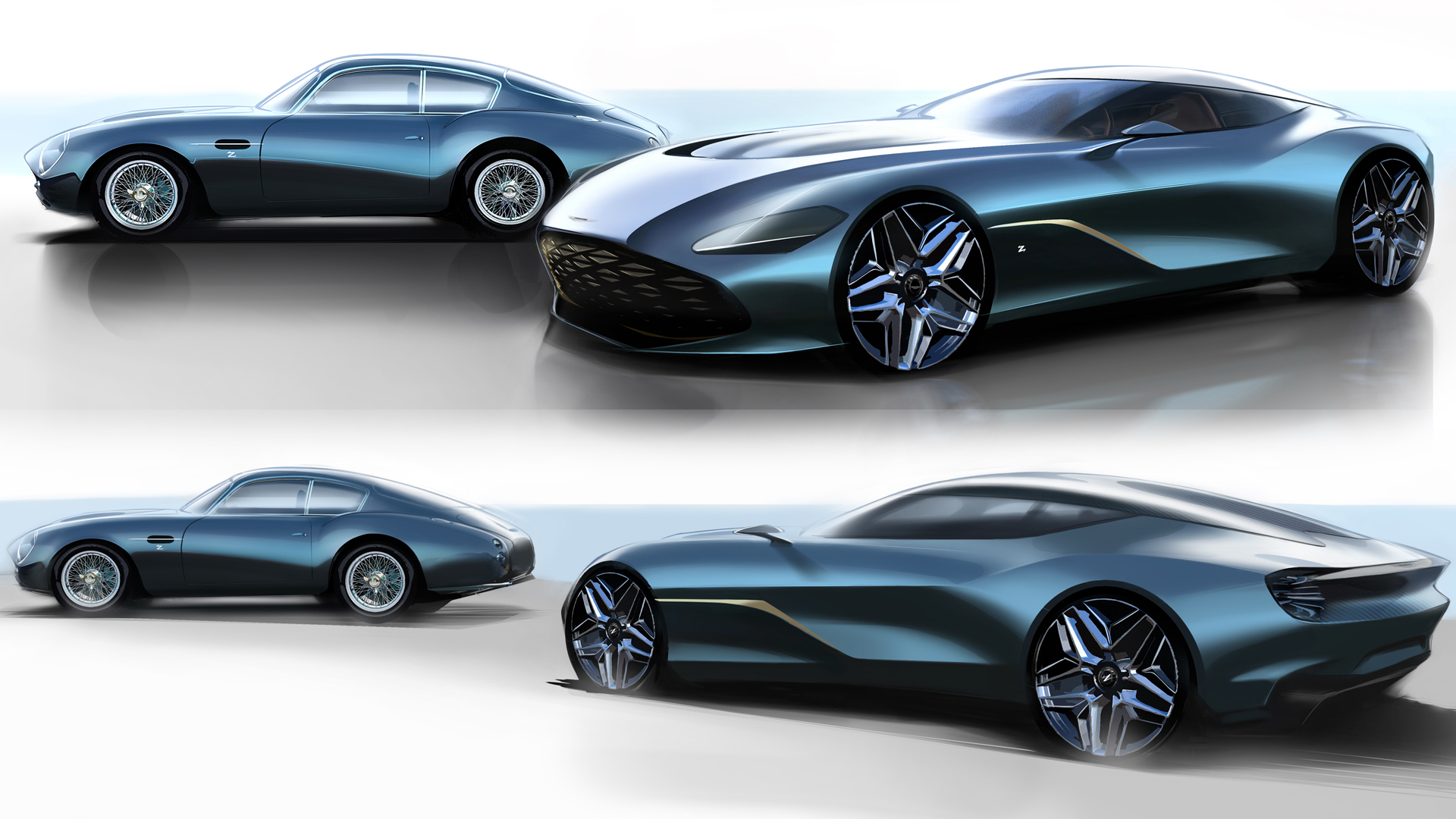 Aston Martin DB4 GT Zagato Continuation и Aston Martin DBS GT Zagato
