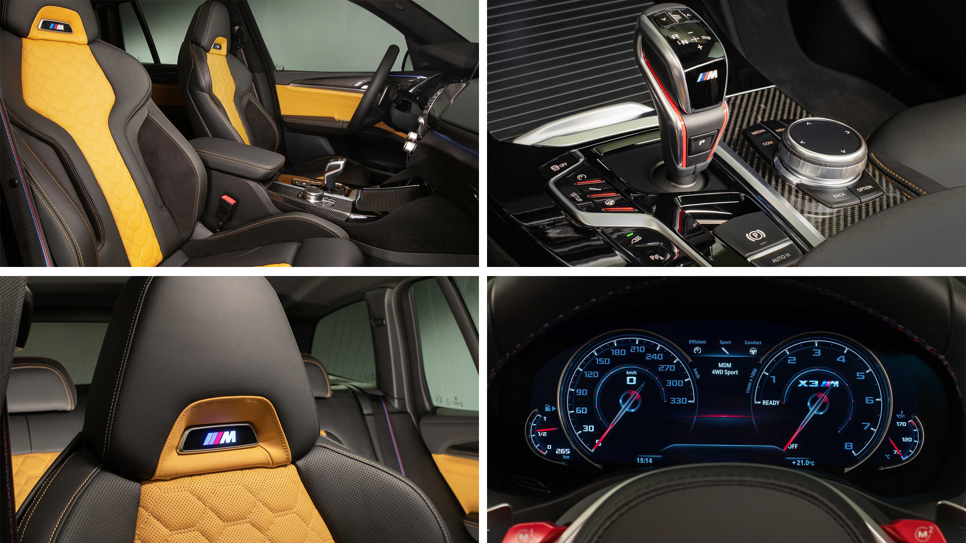 BMW X3 M BMW X4 M