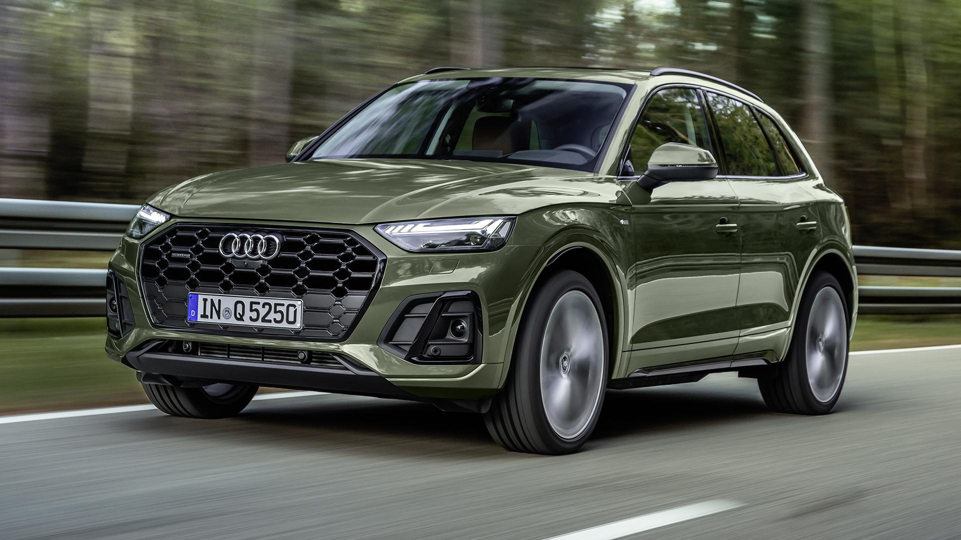 Обновлённый Audi Q5 2021