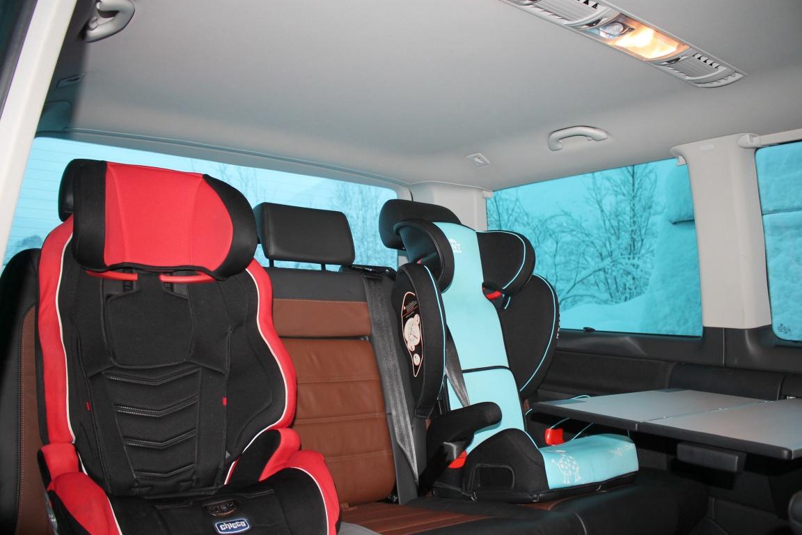 VW Multivan: Айкуайвенчорр и PanAmericana