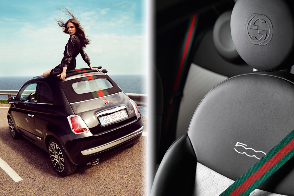 Fiat 500 Gucci: Модный аксессуар