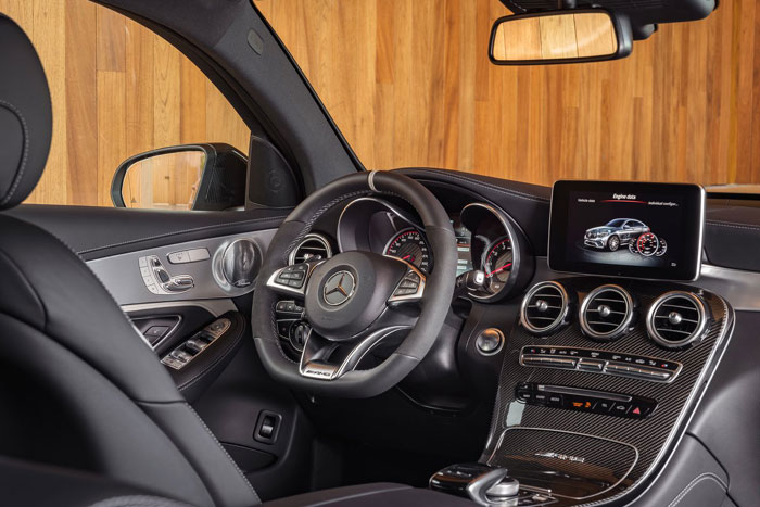Mercedes-Benz GLC 63 AMG Coupe