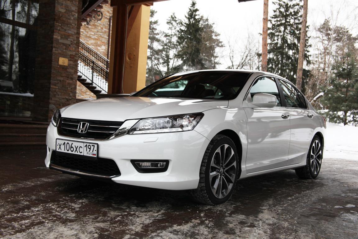 Honda Accord: Заокеанские аккорды
