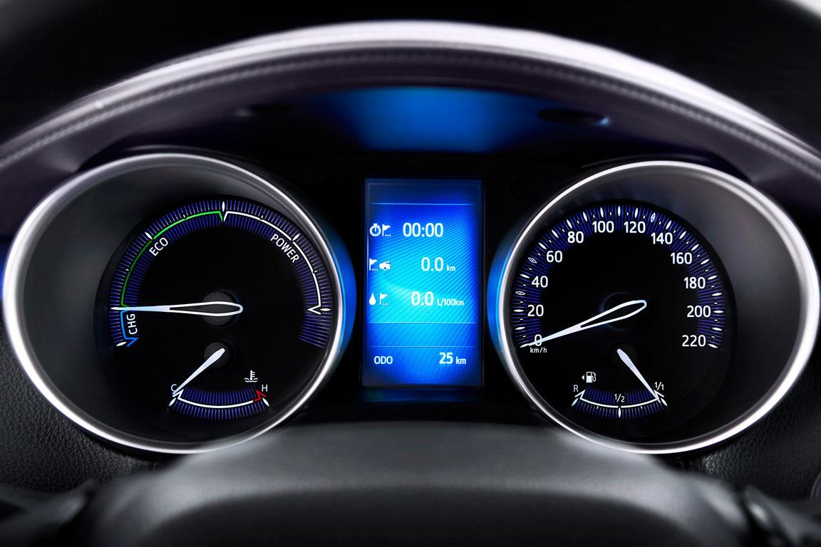 Toyota C-RH 2017 Панель приборов