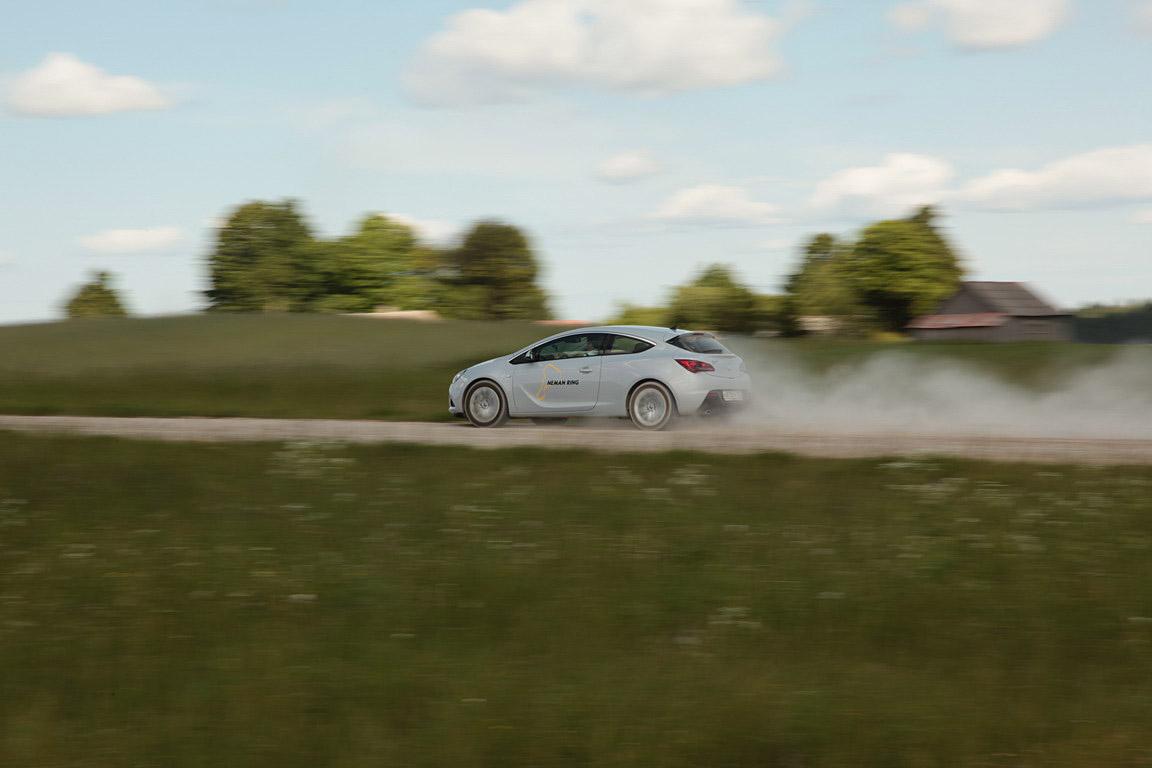 Opel Astra GTC: реальный фитнес