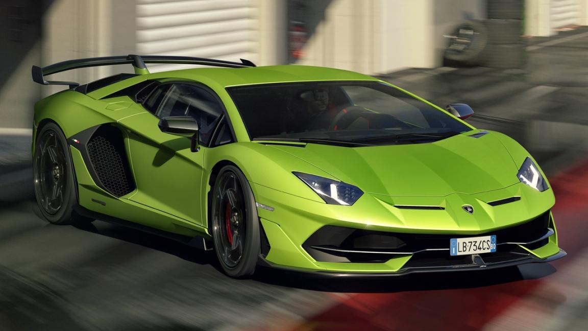 Lamborghini Aventador Super Veloce Jota SVJ