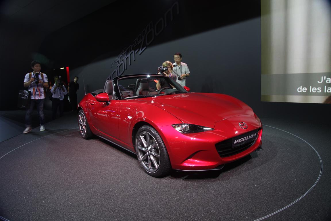 Mazda MX-5 Roadster 2014