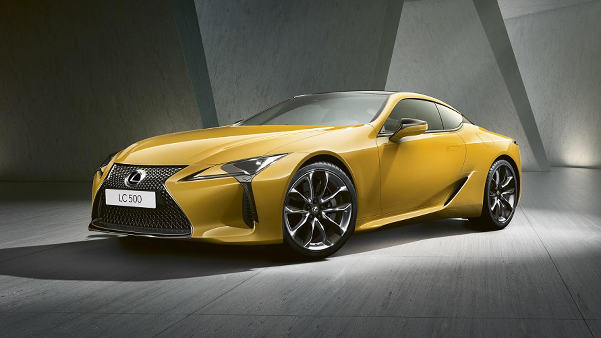 Lexus LC Yellow Edition