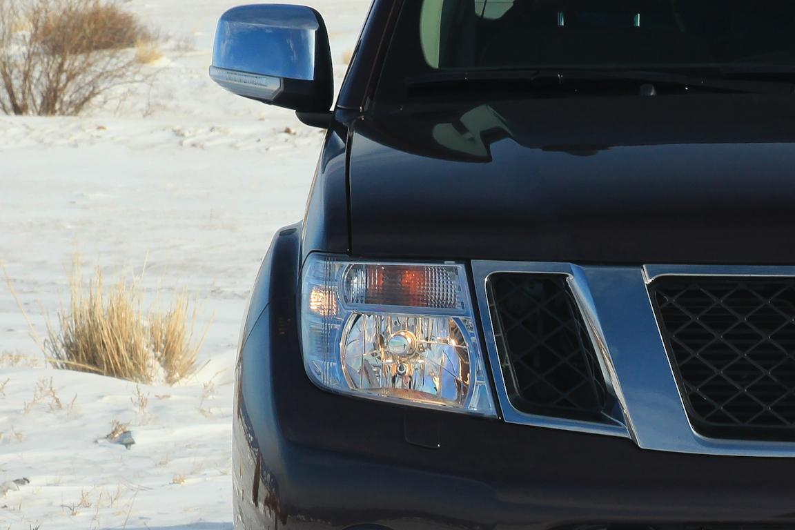 Nissan Navara: Джентльмен в колхозе