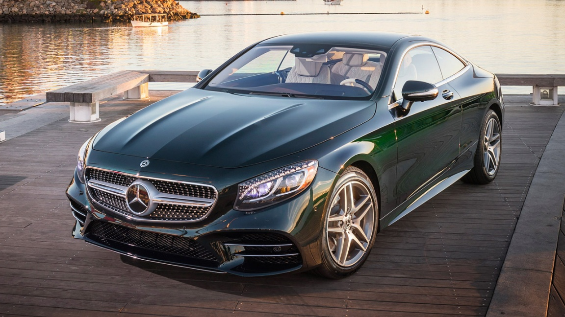 Mercedes-Benz S-class coupe 2017