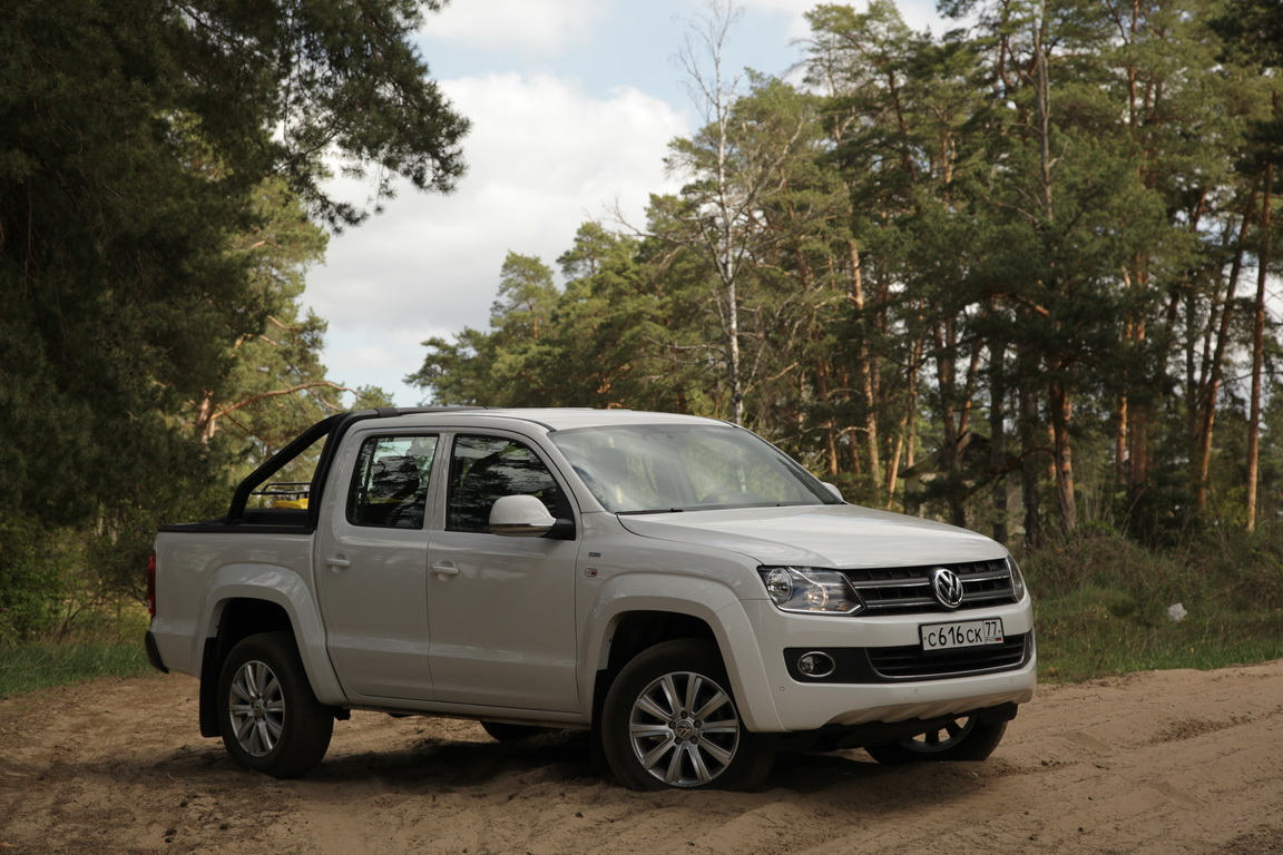 Volkswagen Amarok: Sochi Edition