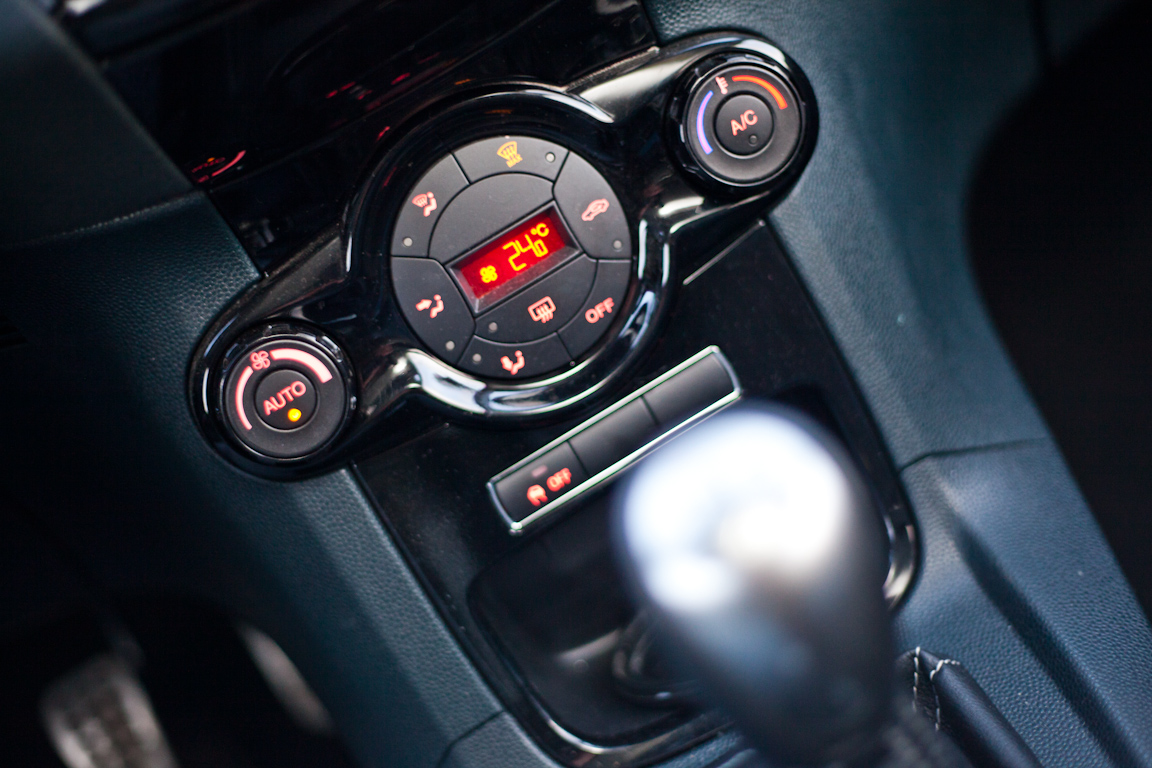 Ford Fiesta: Веселые старты