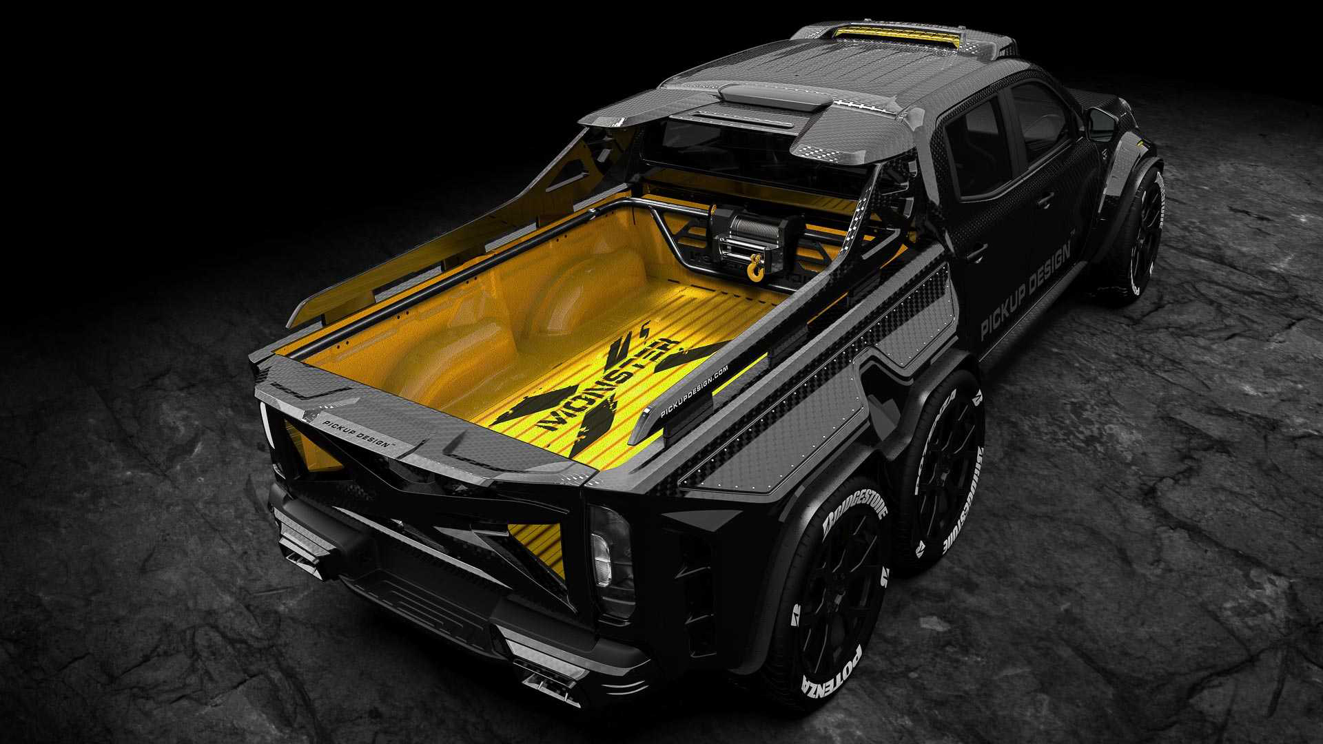 Pickup Design Exy Monster X Concept