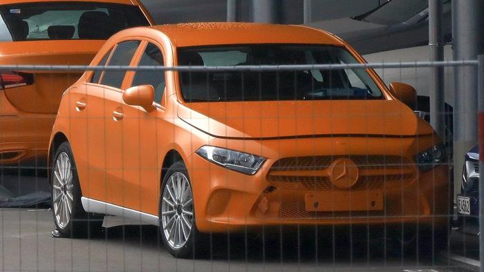 Новый Mercedes-Benz A-Class