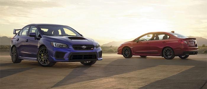 Subaru WRX STI и WRX