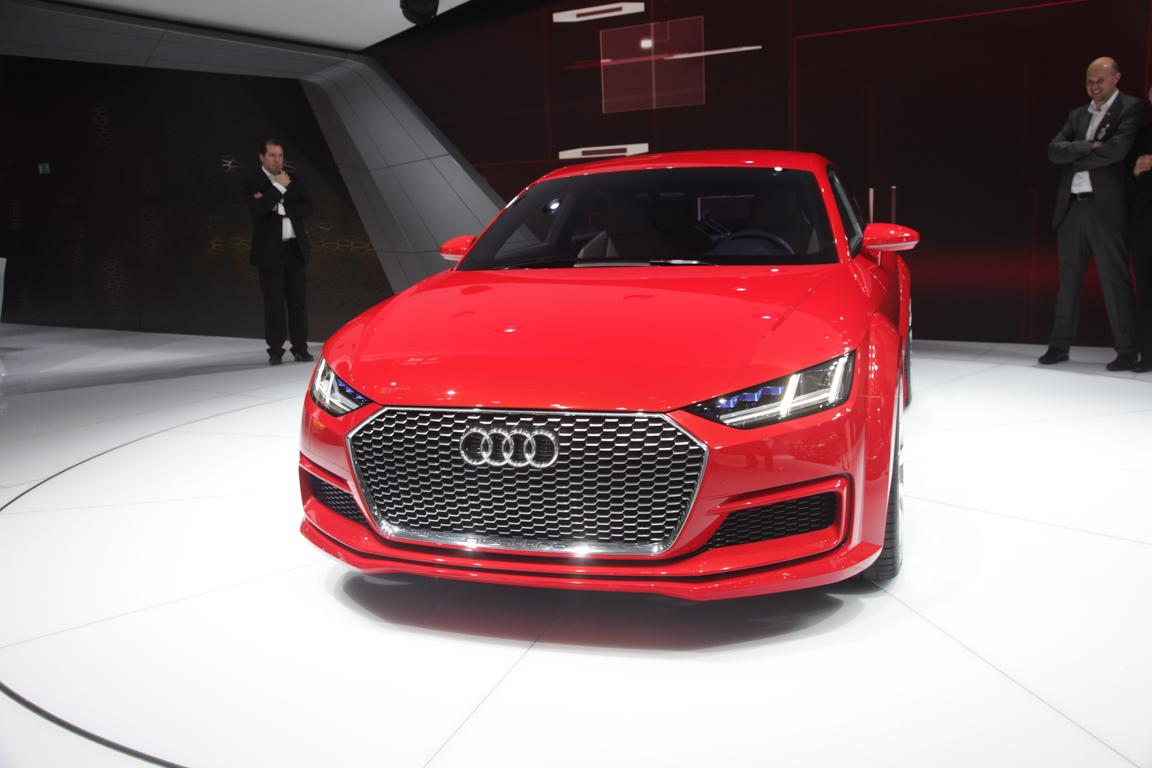 Audi TT Sportback 2014