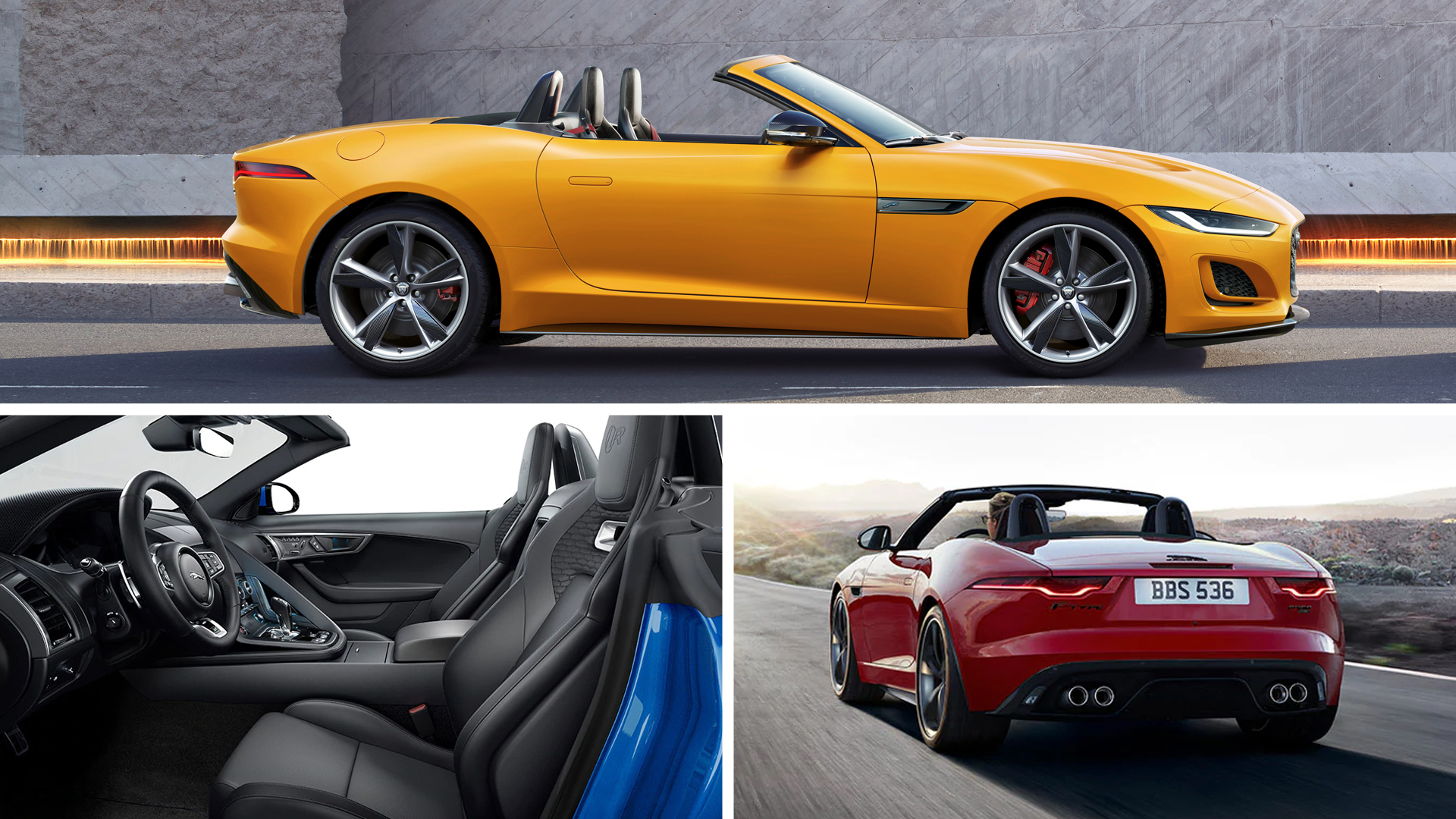 Jaguar f-type convertible 2020