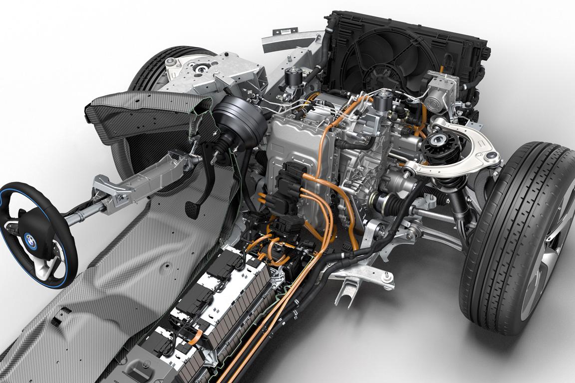 BMW i8 2013 - цена, характеристики и фото, описание модели ...