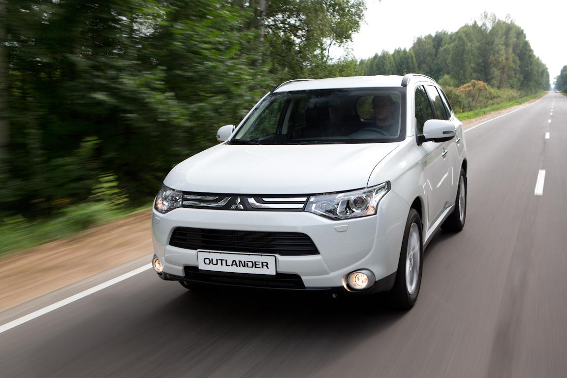 Mitsubishi Outlander: Козырь в рукаве