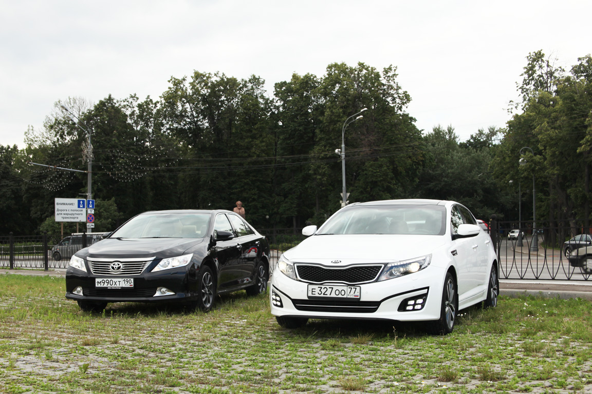 Camry vs Optima