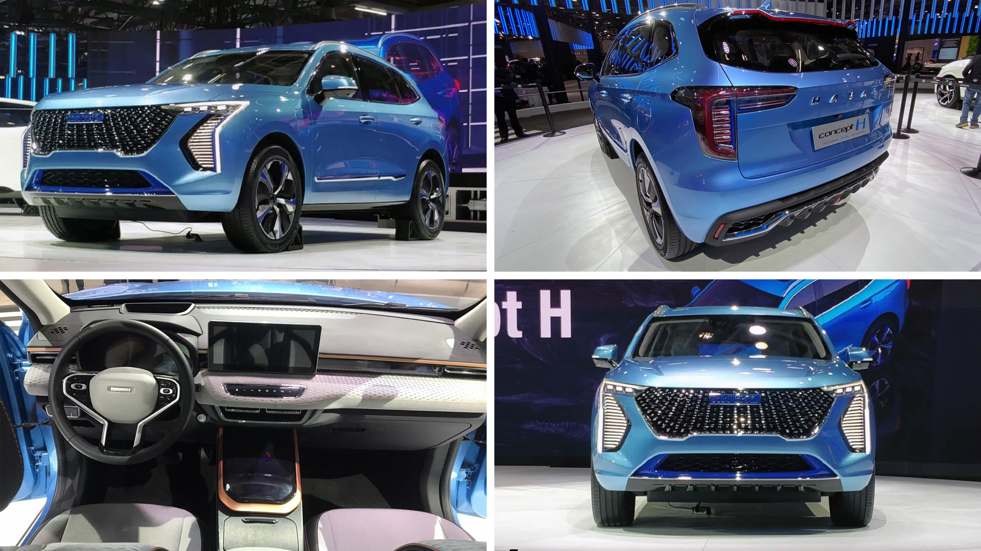 Haval Concept H Plug-in Hybrid Electric SUV
