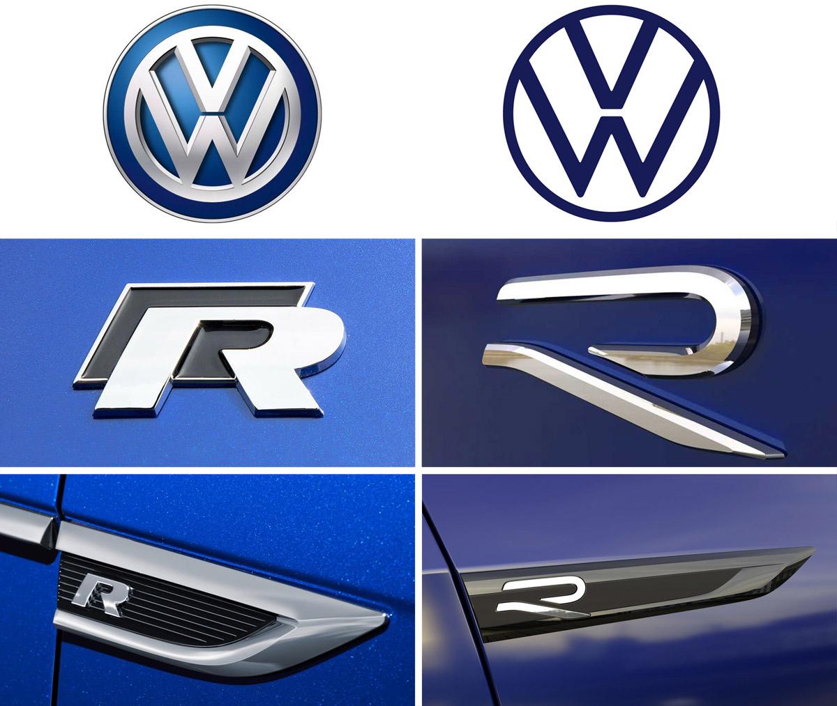 volkswagen new r logo