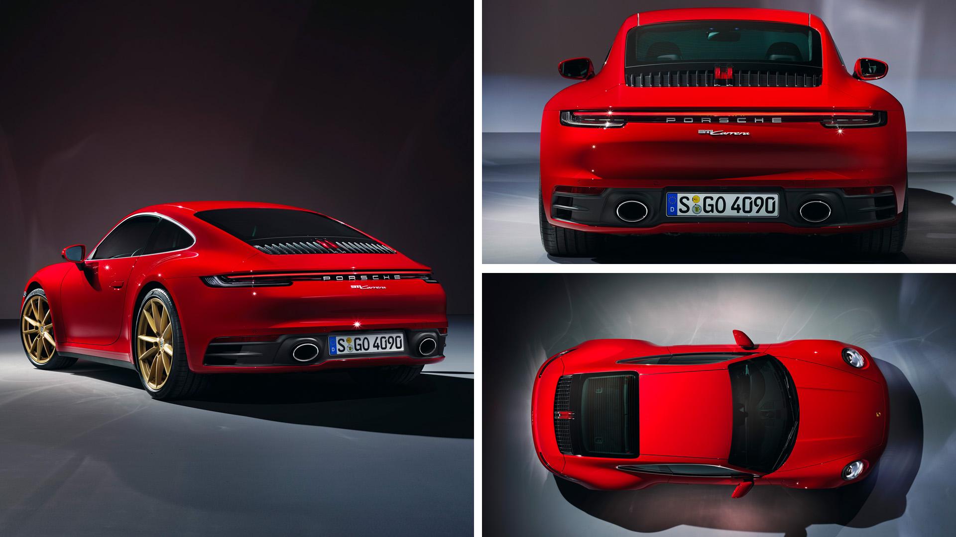 Porsche 911 carrera coupe 2020 992