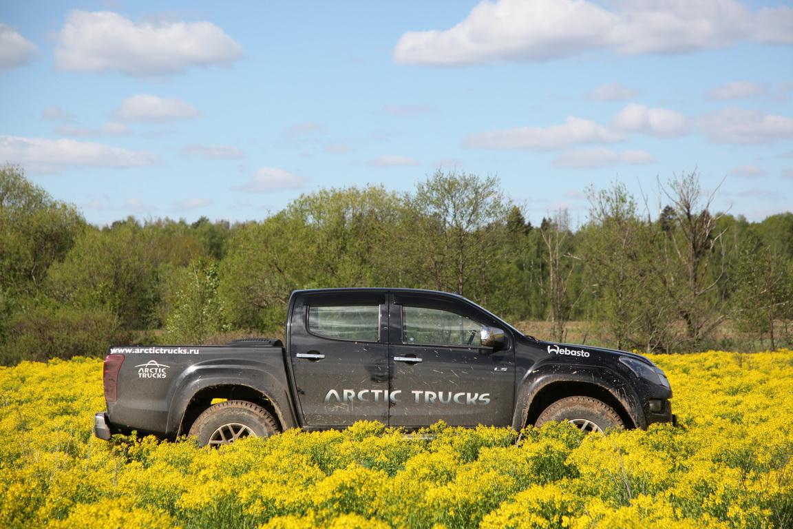 Isuzu D-Max Arctic Trucks