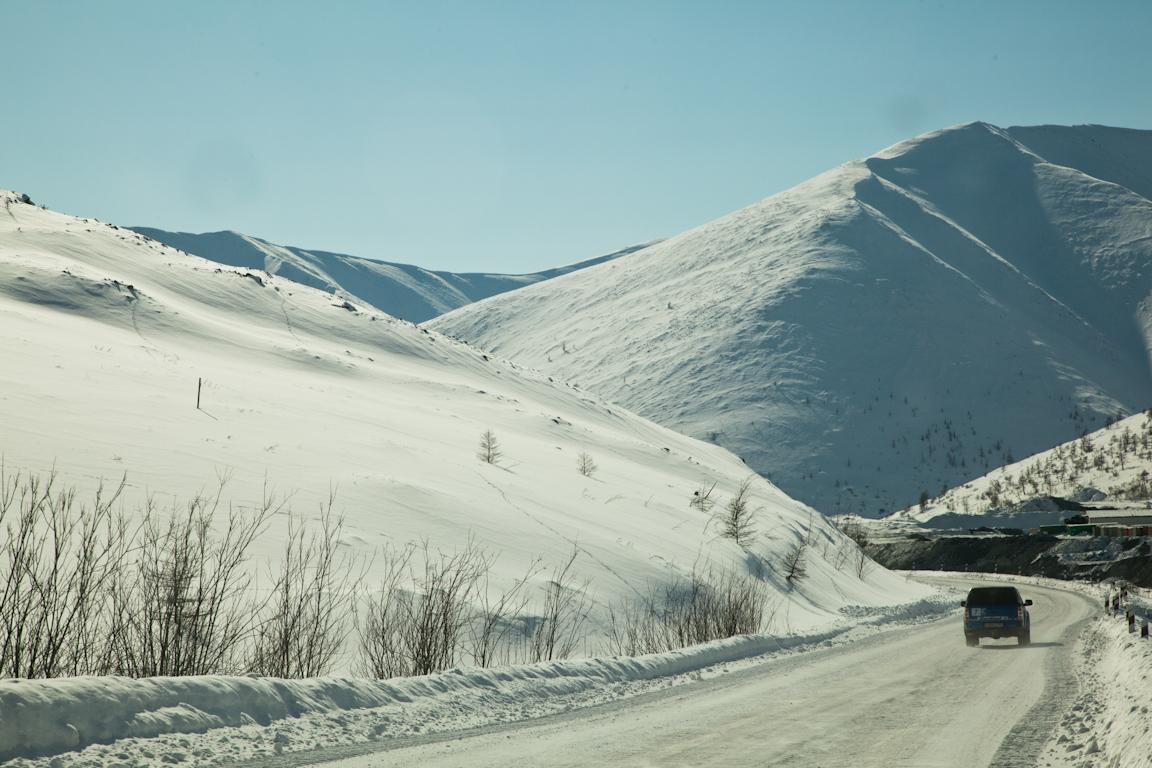 Автоэкспедиция Брест-Певек (Билибино - Певек)