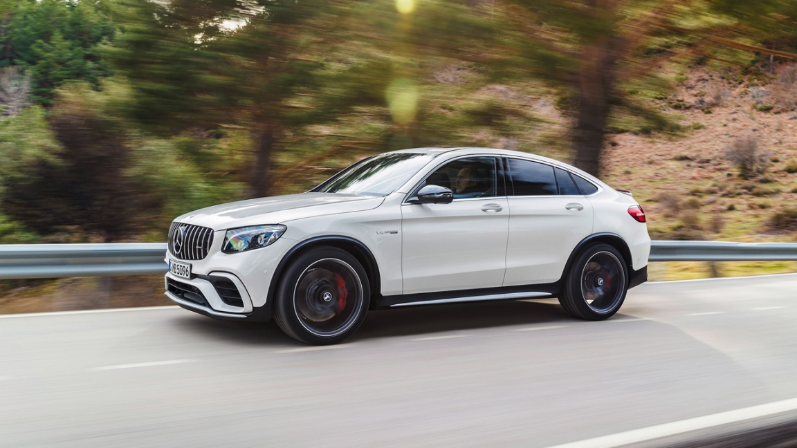 Mercedes-AMG GLC Coupe 2017